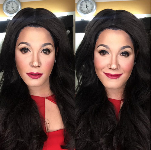 Paolo ballesteros makeup transformation regine velasquez