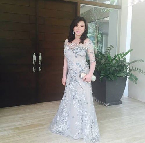 Kris Aquino Manny Pacquiao Take Selfies Before Toni Gonzaga And Paul Soriano Wedding